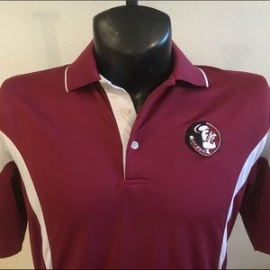 Adult PGA Tour University Florida State Golf Shirt
